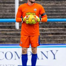 Ryan Scully playing for Morton
