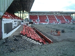 East End Park pitch 21.7.05