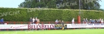Brechin City v Pars 17th July 2007. The famous hedge at Glebe Park, Brechin.