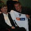 Meet the Management night. 1st September 2005. Peter wins a home top.
