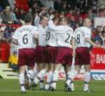 Andy Tod now playing for Hearts 13 Apr 2002