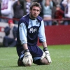 Hearts v Pars 8th April 2006. Allan McGregor in despair.