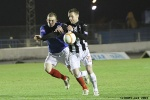 Cowdenbeath v Pars 12th February 2013. Andy Kirk held back. (1of2)