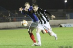 Cowdenbeath v Pars 12th February 2013. Andy Kirk held back. (2of2)