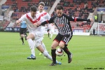 Lawrence Shankland v Gregor Buchanan. Pars v Airdrieonians 18th January 2014.