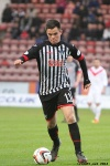 Lawrence Shankland. Pars v Airdrieonians 18th January 2014.