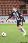 Josh Falkingham. Pars v Arbroath 25th February 2014.