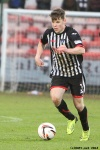 Alex Whittle. Pars v Airdrieonians 18th January 2014.
