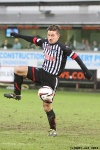 Josh Falkingham. Pars v Airdrieonians 18th January 2014.