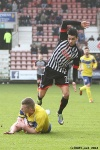 Pars v Stenhousemuir 8th March 2014. Faissal El Bakhtaoui v Nicholas Devlin (2 of 2).