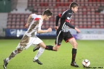 Ryan Williamson  v Ross Gilmour. Pars v Airdrieonians 18th January 2014.