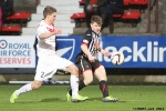 Alex Whittle v Ross Gilmour. Pars v Airdrieonians 18th January 2014.