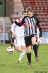 Pars v Hamilton Academical 6th April 2013. Ryan Thomson equalises to make it 1-1! (2of2)