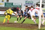 A scramash as Arthur Montford would describe! Pars v Airdrieonians 18th January 2014.