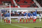 Ryan Thomson is offside???! Pars v Cowdenbeath 20th April 2013. (2 of 2)