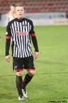 Andy Geggan. Pars v Airdrieonians 18th January 2014.