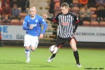 Pars v The Rangers 30th December 2013. Andy Geggan v Nicky Law.