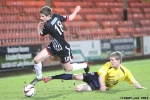 Pars v Arbroath 25th February 2014. Ross Williamson in action.