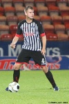 Kerr Young. Pars v Raith Rovers (Ramsden Cup) 20th August 2013.