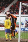 Pars v Hamilton Academical 6th April 2013. Stephen Husband scores penalty to make it 2-2. (1of2)