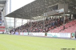 North West Stand Support. Pars v Cowdenbeath 20th April 2013.