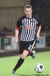 Andy Geggan. Pars v Raith Rovers (Ramsden Cup) 20th August 2013.