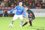 Pars v The Rangers 30th December 2013. Ryan Wallace v Nicky Law.