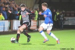 Pars v The Rangers 30th December 2013. Ryan Williamson v Lewis MacLeod.