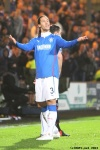 Pars v The Rangers 30th December 2013. Bilel Mohsni aka Shi*e Poccahontas!