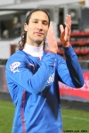 Pars v The Rangers 30th December 2013. Bilel Mohsni.