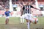 Stephen husband scores! (1 of 2). Pars v Cowdenbeath 20th April 2013.