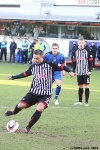 Pars v Stranraer 11th January 2014. Ryan Wallace steps up to take the penalty.