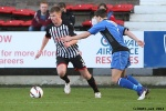 Pars v Stranraer 11th January 2014. Ross Drummond v Sean Winter.