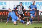 Pars v Stranraer 11th January 2014. Ryan Wallace v Jamie Longworth and Sean Winter.