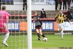 Pars v East Fife 22nd March 2014. Ryan Williamson sets up the first goal of the game.