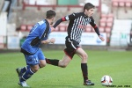 Pars v Stranraer 11th January 2014. Ryan Williamson v Andrew Stirling.
