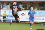 Pars v Stranraer 11th January 2014. Faissal El BAkhtaoui in action.