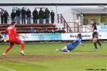 Pars v Stranraer 11th January 2014. Shaun Byrne equalises to make it 2-2!  (1of2)