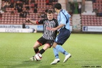 Pars v Forfar Athletic 7th December 2013. Alex Whittle in action.