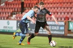 Pars v Forfar Athletic 7th December 2013. Allan Smith in action.