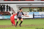 Pars v Stranraer 11th January 2014. Lawrence Shankland celebrates his goal on his debut!