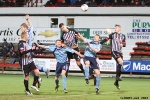 Pars v Forfar Athletic 7th December 2013. Kerr Young in action.