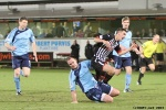 Pars v Forfar Athletic 7th December 2013. Shaun Byrne in action.