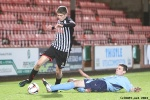Pars v Forfar Athletic 7th December 2013. Ryan Williamson in action.