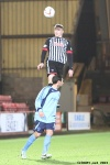 Pars v Forfar Athletic 7th December 2013. Callum Morris in action.