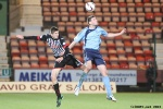 Pars v Forfar Athletic 7th December 2013. Ryan Williamson v Chris Templeman.