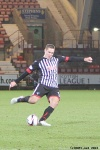 Stephen Husband. Pars v Forfar Athletic 7th December 2013.