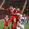 Pars v Airdrie United 7th January 2006. Andy Tod v Martin Hardie (6) and Paul Lovering (3)