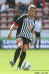 Kerr Young. Pars v Arbroath 17th August 2013.