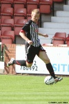 Andy Geggan. Pars v Arbroath 17th August 2013.